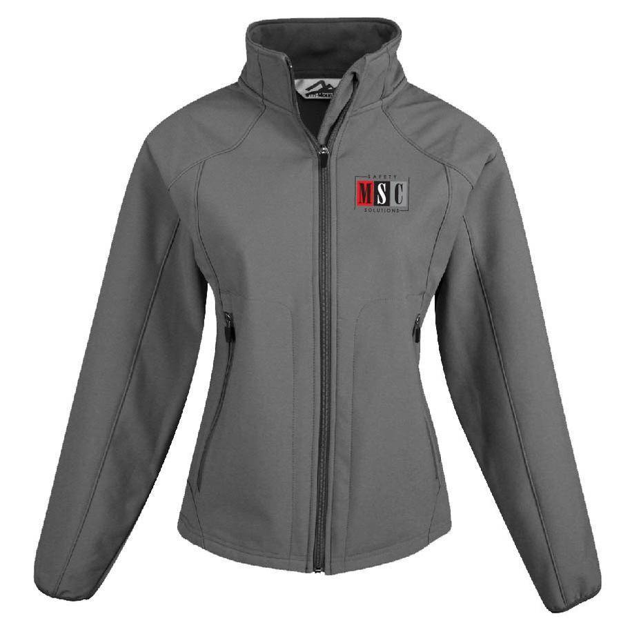 Tri Mountain Ladies Ascent Jacket (Charcoal)