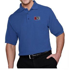 Tri Mountain Tri Mountain Men's Tradesman Polo (Royal)