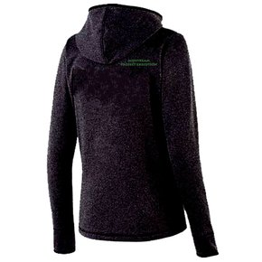 Holloway Holloway Ladies Artillery Angled Jacket (Black w/green logo)
