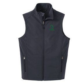 Port Authority Port Authority Core Soft Shell Vest ( Battleship Grey )