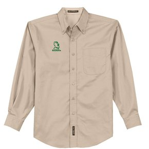 Port Authority Port Authority® Long Sleeve Easy Care Shirt (Stone)