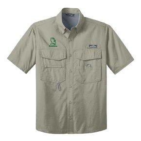 Eddie Bauer Eddie Bauer® - Short Sleeve Fishing Shirt ( Driftwood )