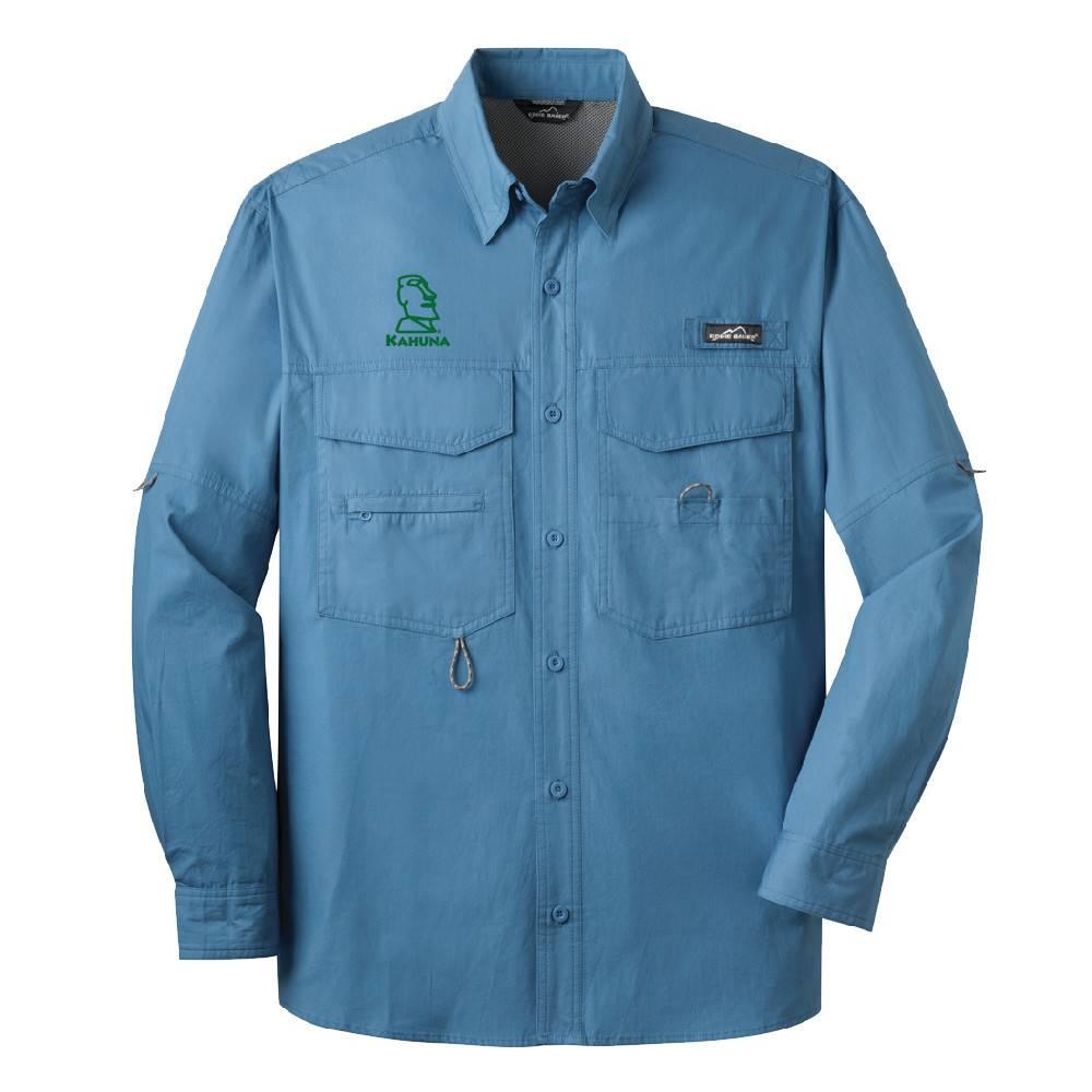 Eddie Bauer Eddie Bauer® - Long Sleeve Fishing Shirt ( Blue Gill )