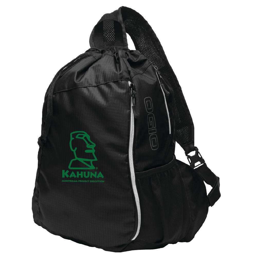 Ogio OGIO® Sonic Sling Pack ( Black w/green logo)