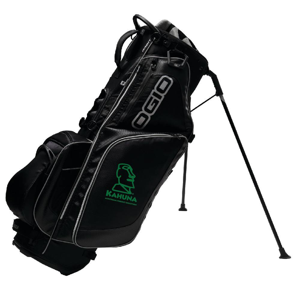Ogio SanMar Ogio Golf Bag (w/green logo)