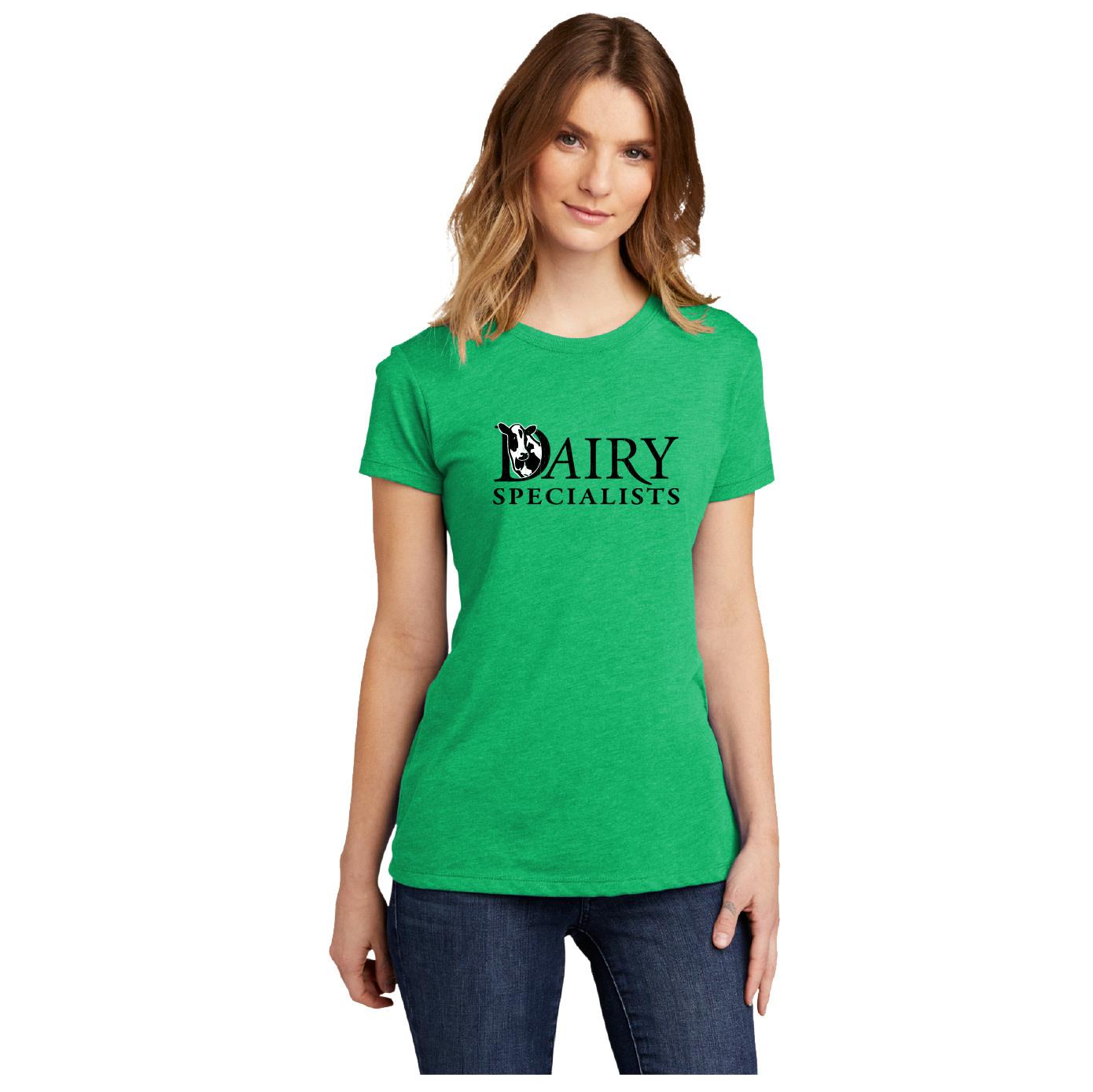 Next Level Next Level Women's Tri-Blend Tee (Envy Green)