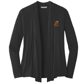 Port Authority Port Authority Ladies Concept Open Cardigan (Black)