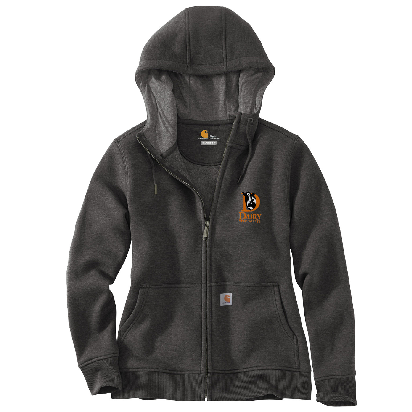 Carhartt Carhartt Women's Clarksburg Full-Zip Hoodie (Carbon Heather)