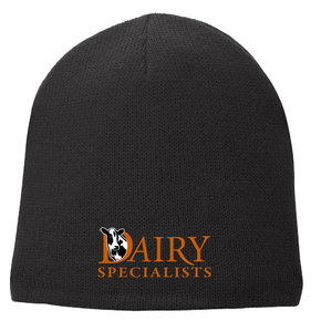 Port Authority Port & Company Fleece-Lined Beanie Cap (Black)