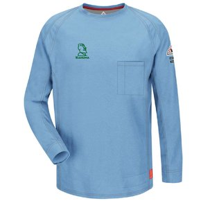 Bulwark Bulwark iQ Series® Long Sleeve Tee (Blue)