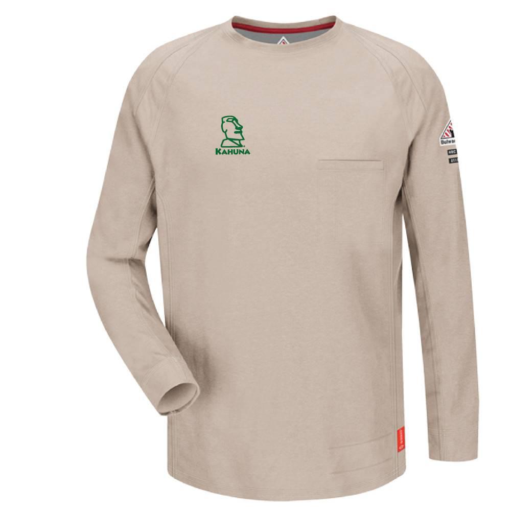 Bulwark Bulwark iQ Series® Long Sleeve Tee (Stone)