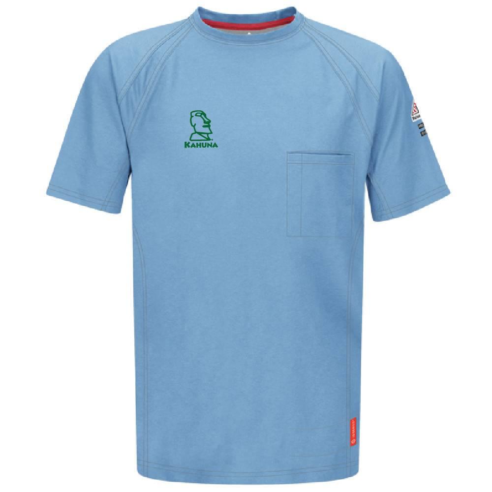 Bulwark Bulwark iQ Series® Short Sleeve Tee (Blue)