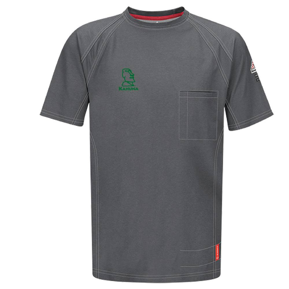 Bulwark Bulwark iQ Series® Short Sleeve Tee (Charcoal)