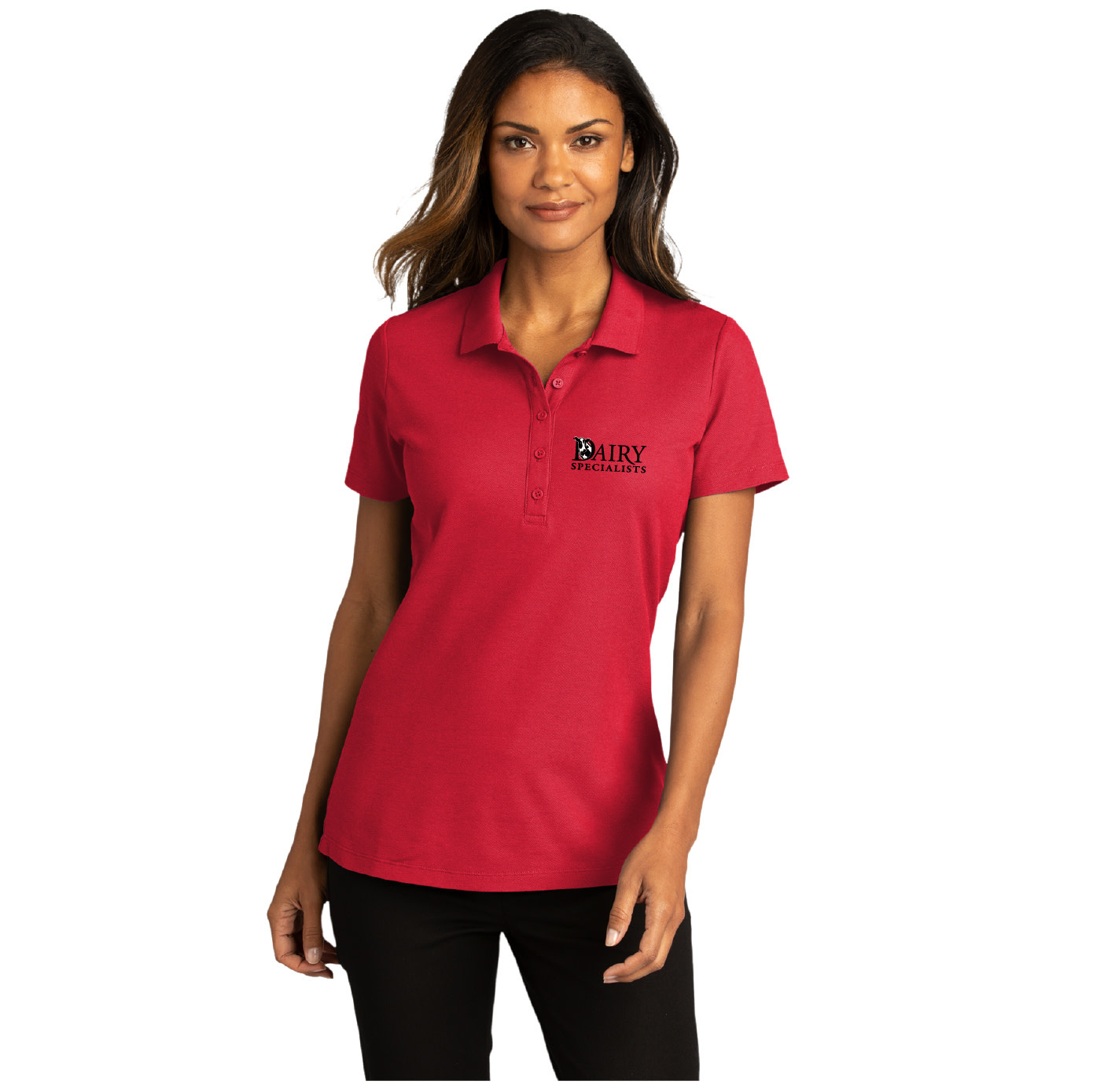 Port Authority Port Authority Ladies SuperPro React Polo (Rich Red)
