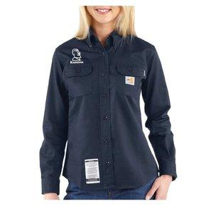 Carhartt Carhartt Women's FR Twill Shirt ( Dark Navy )