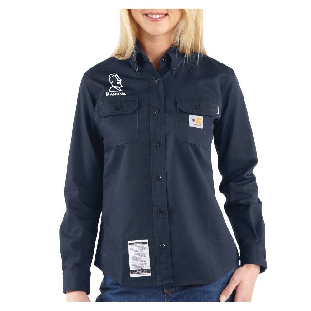 Carhartt Carhartt Women's FR Twill Shirt ( Dark Navy )