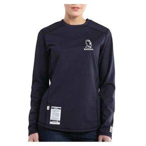 Carhartt Carhartt Women's FR  Cotton Long-Sleeve Shirt ( Dark Navy )