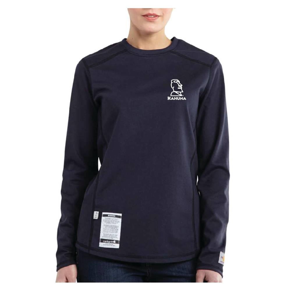 Carhartt Carhartt Women's FR  Cotton Long-Sleeve Shirt ( Dark Navy )
