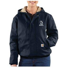 Carhartt Carhartt Women's FR Midweight Canvas Active Jacket ( Dark Navy)