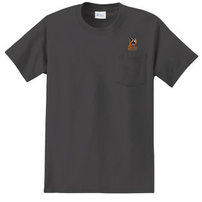 Port Authority Port & Company Essential Pocket Tee (Charcoal)