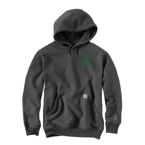 Carhartt Carhartt Rain Defender Heavyweight Hooded Sweatshirt ( Carbon Heather)