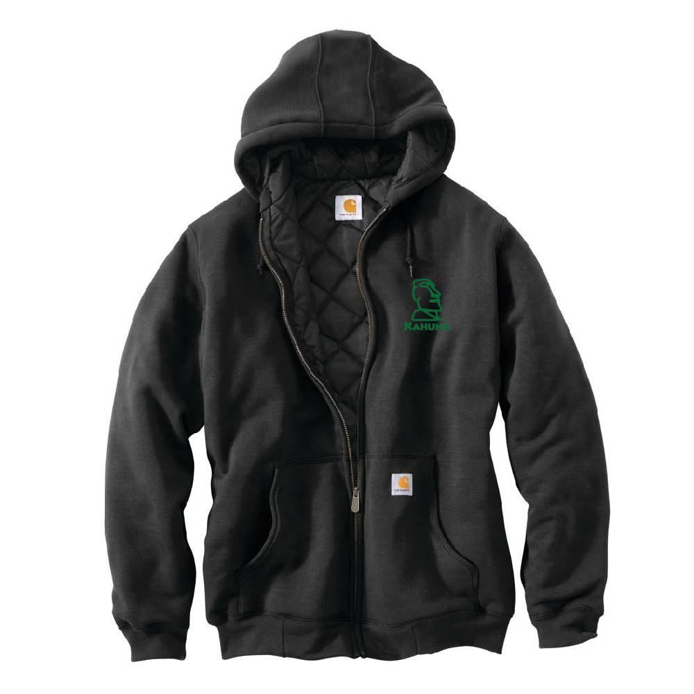Carhartt Carhartt Rain Defender 3 Season Midweight Sweatshirt (Black w/green logo)
