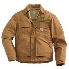 Carhartt Carhartt FR Lanyard Access Jacket/Quilt-Lined ( Carhartt Brown)
