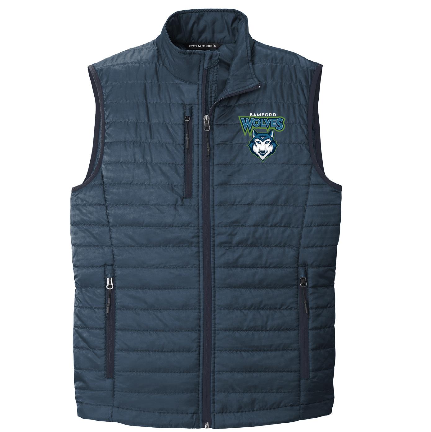 Port Authority Port Authority Packable Puffy Vest (Regatta Blue/River Blue)
