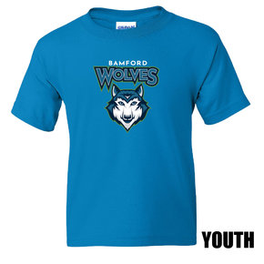 Port Authority Port & Company Youth Core Cotton Tee (Sapphire)