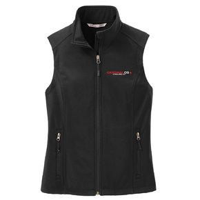 Port Authority Port Authority Ladies Core Soft Shell Vest (Black)
