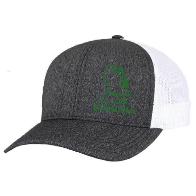 Pacific Pacific Heather Trucker Mesh Hat (Black Heather/White)