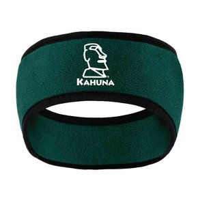 Port Authority Port Authority Two-Color Fleece Headband ( Dark Green)