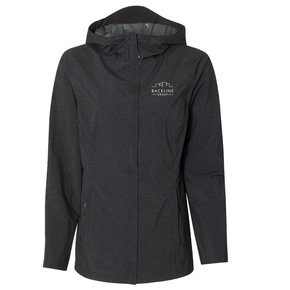 Weatherproof Weatherproof  Women's 32 Degrees Mélange Rain Jacket (Black)