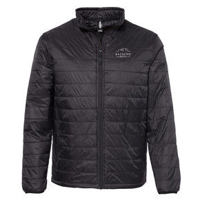 Independent Trading Co. Puffer Jacket (Black)