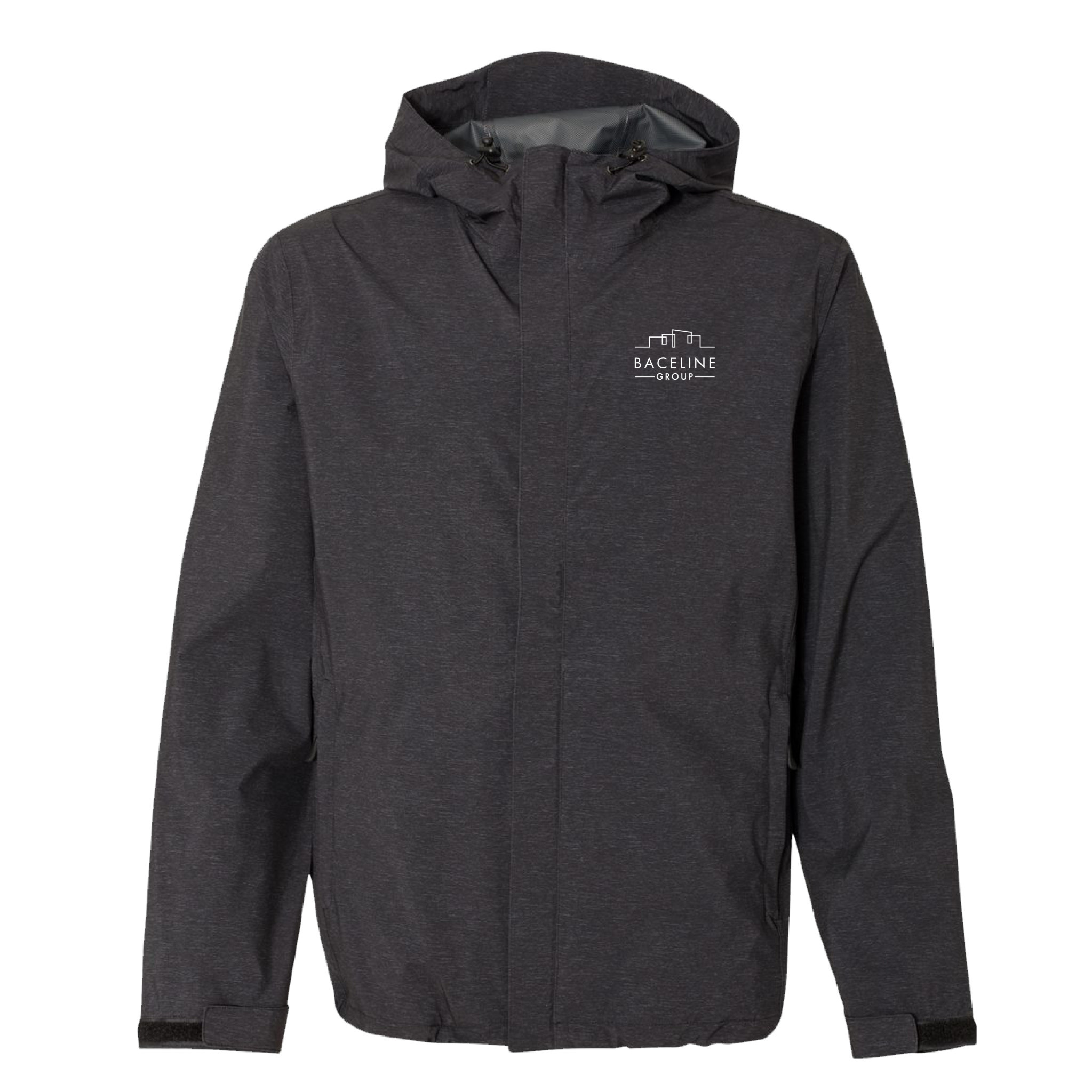 Weatherproof Weatherproof  32 Degrees Mélange Rain Jacket (Black)