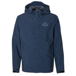 Weatherproof Weatherproof  32 Degrees Mélange Rain Jacket (Navy)