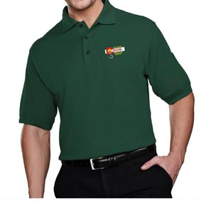 Tri Mountain Tri Mountain Men's Tradesman Polo (Forest Green)