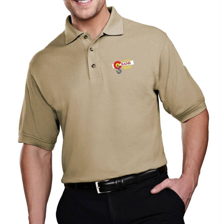 Tri Mountain Tri Mountain Men's Tradesman Polo (Khaki)