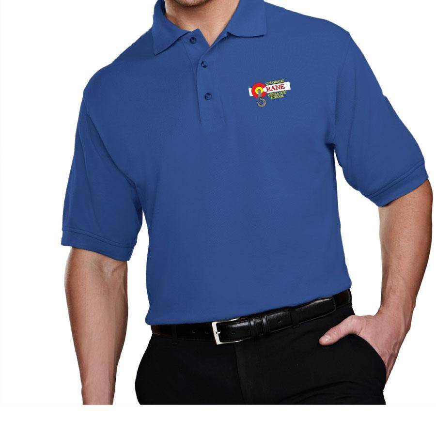 Tri Mountain Tri Mountain Mens Tradesman Polo (Royal)