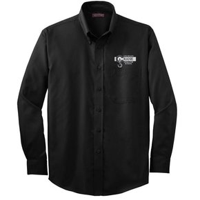 Red House Red House Men's Button Shirt (Black)
