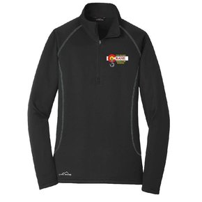 Eddie Bauer Eddie Bauer Ladies 1/2 Zip (Black)