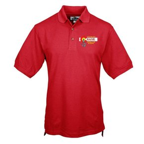 Tri Mountain Tri Mountain Men's Tradesman Polo (Red)