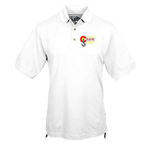 Tri Mountain Tri Mountain Men's Tradesman Polo (White)