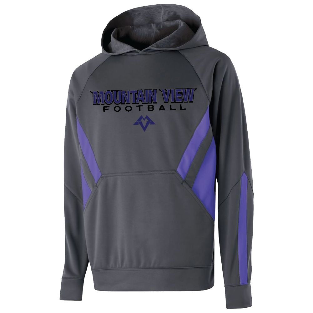 Holloway Holloway Argon Hoodie (Carbon/Purple)