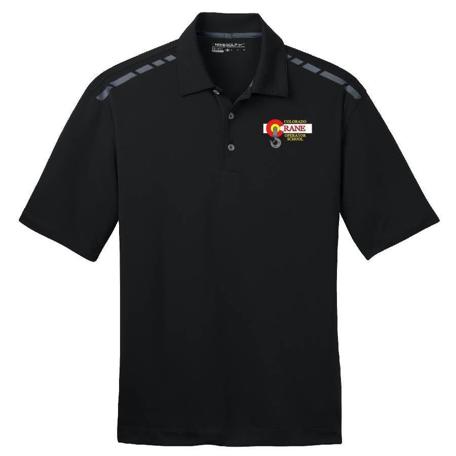 Nike Nike Golf Dri-Fit Graphic Polo (Black)