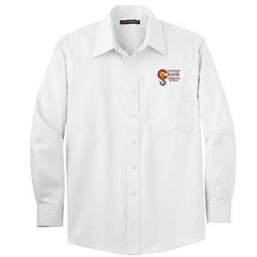 Port Authority Port Authority Non-Iron Twill Shirt (White)