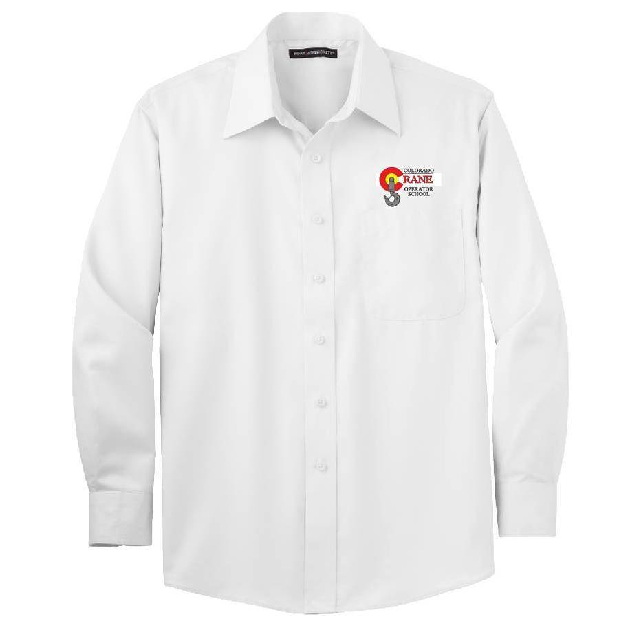 Port Authority Port Authority Non-Iron Twill Shirt (White)