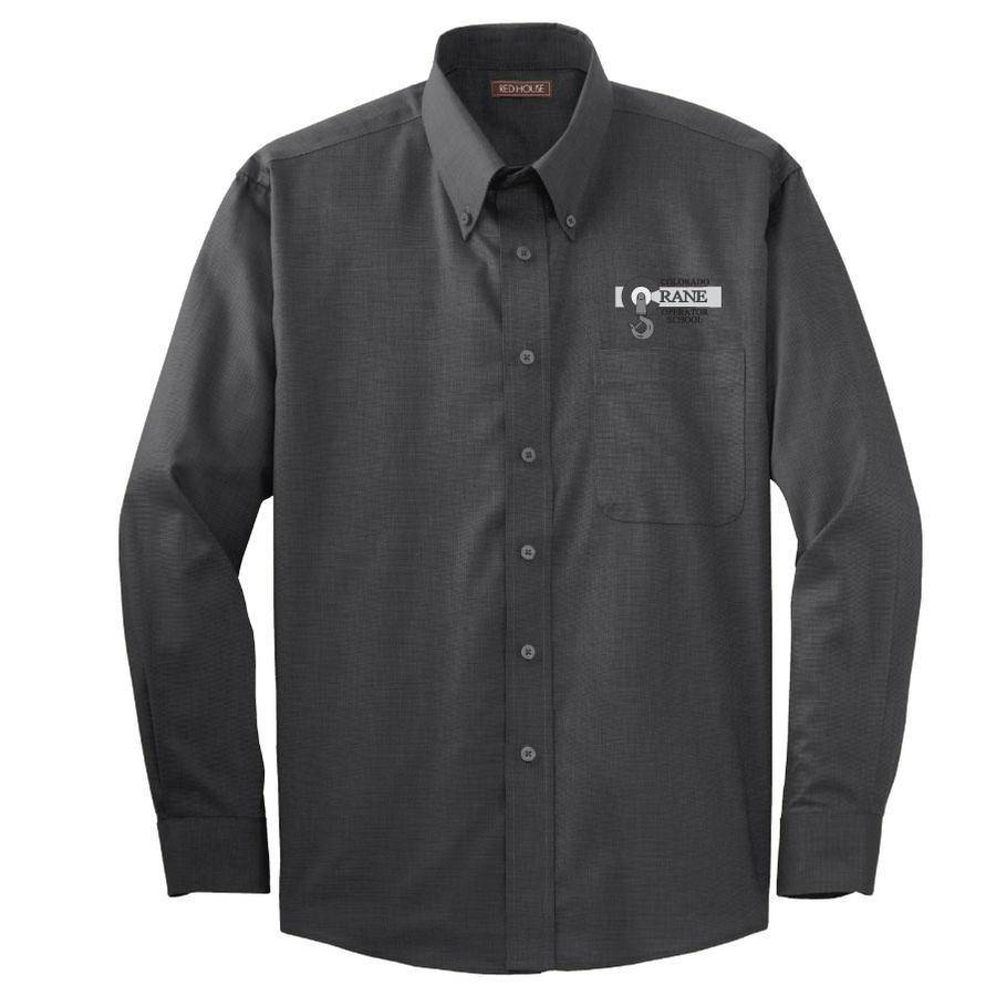 Red House Red House Nailhead Non-Iron Shirt (Black)