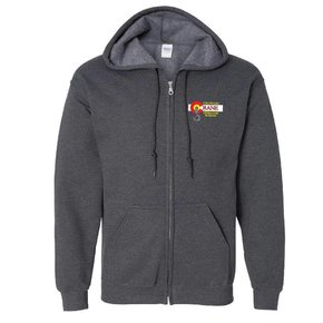 Gildan Gildan Adult Heavy Blend 50/50 Full-Zip Hoody (Dark Heather)