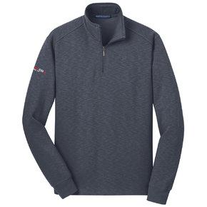 Port Authority Port Authority Slub Fleece 1/4-Zip Pullover (Slate Grey)